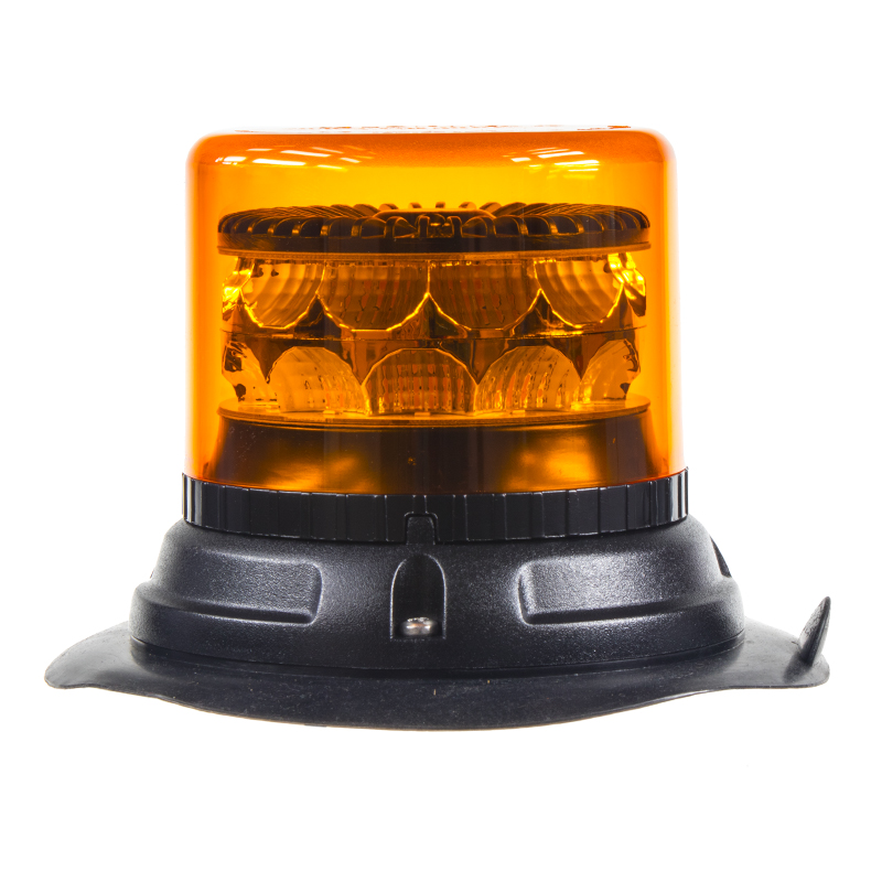 PROFI LED maják 12-24V 24x3W oranžový magnet 133x86mm, ECE R65