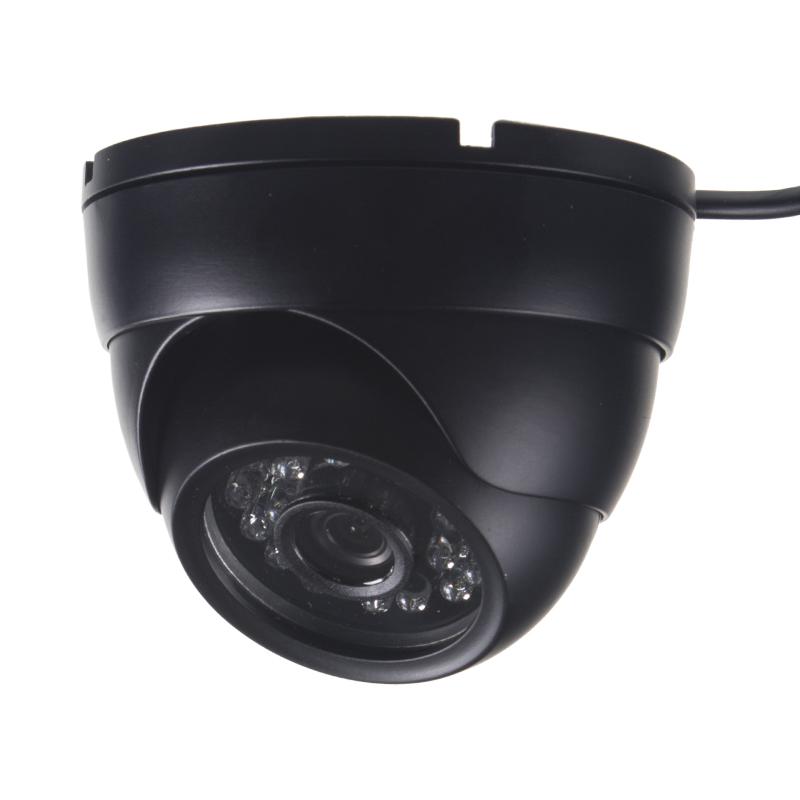 x AHD 720P kamera 4PIN CCD SHARP s IR, vnější v kovovém obalu