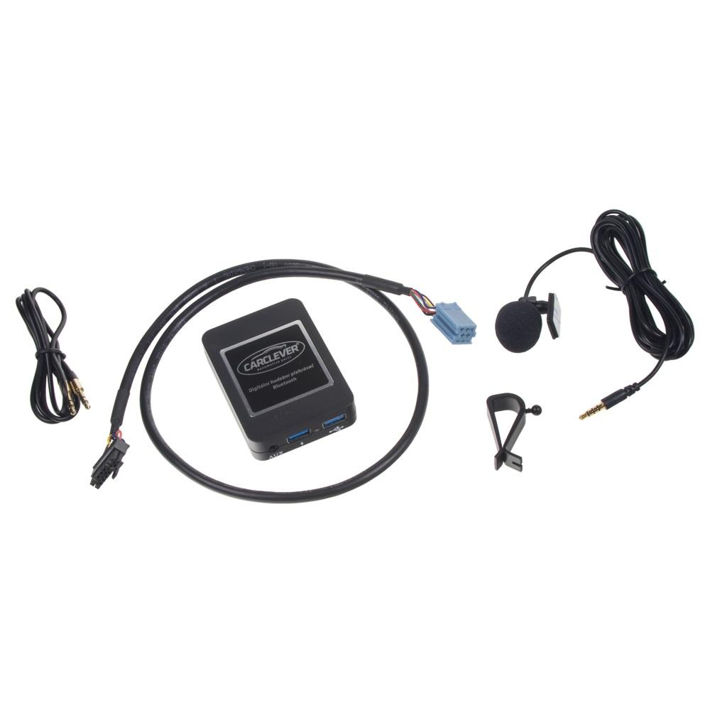 Hudební přehrávač USB/AUX/Bluetooth Renault