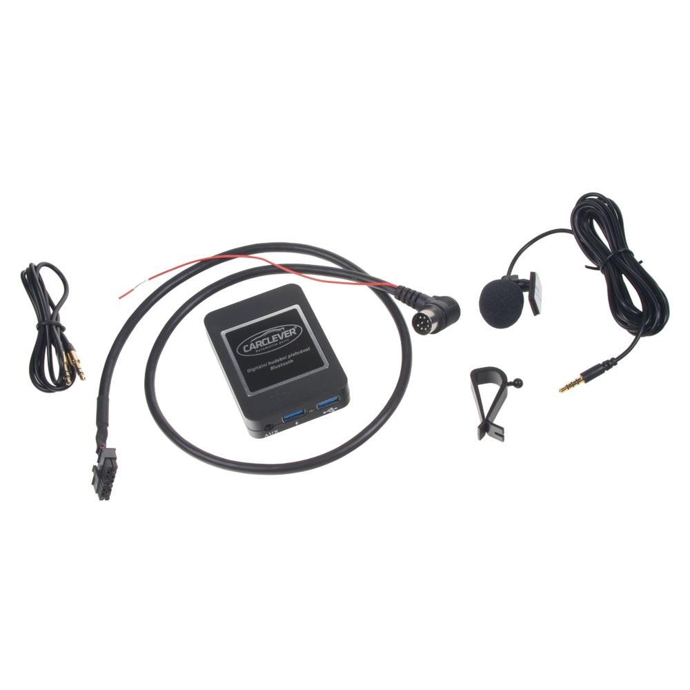 Hudební přehrávač USB/AUX/Bluetooth Volvo