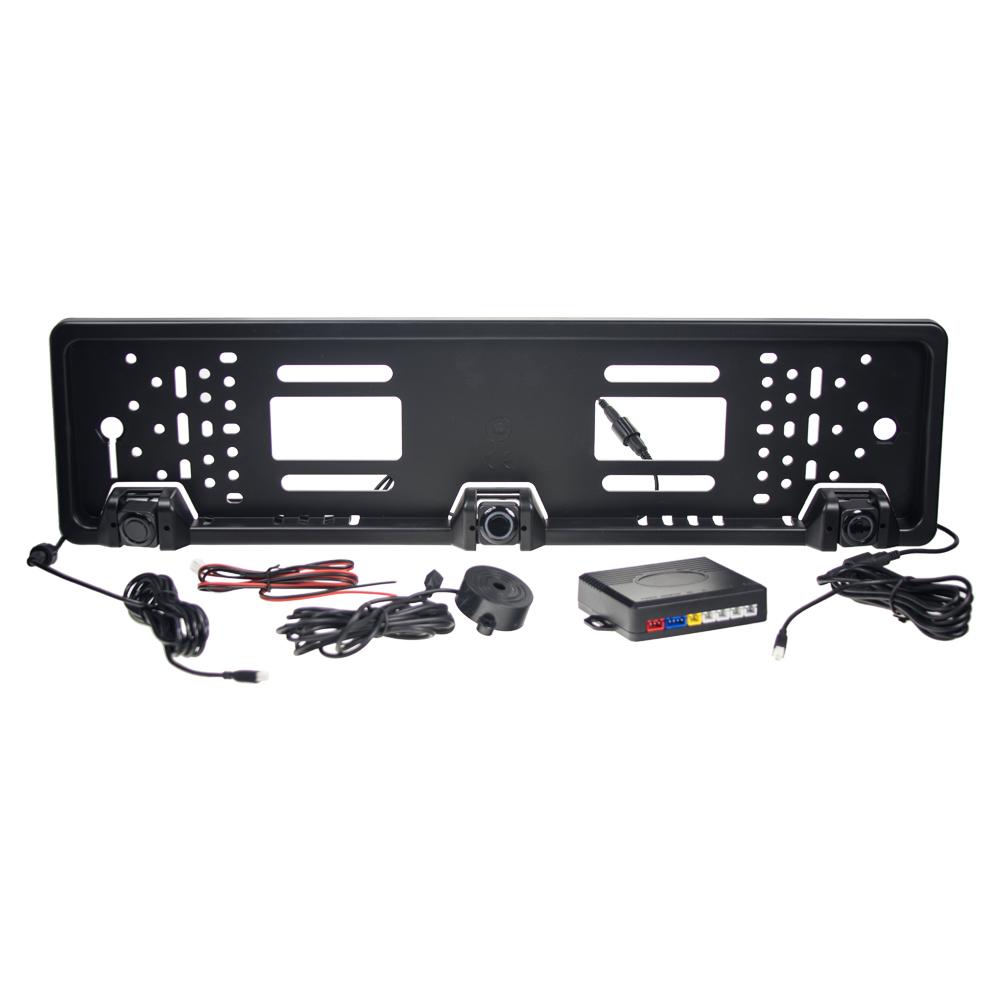 Parkovací systém 3 senzory v SPZ, akustický