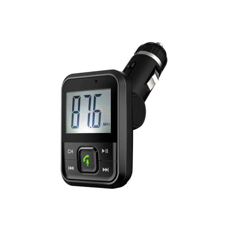 Bluetooth/MP3/FM modulátor bezdrátový s USB/SD/AUX portem do CL s dálkovým ovladačem