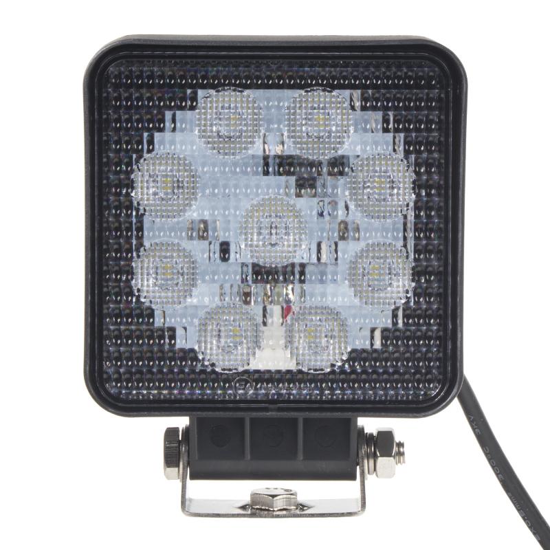 LED světlo extra SLIM, 9x3W, 128x110mm, ECE R10