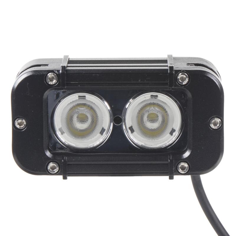 LED 2x10W prac.světlo, 10-70V, 127x64x92mm