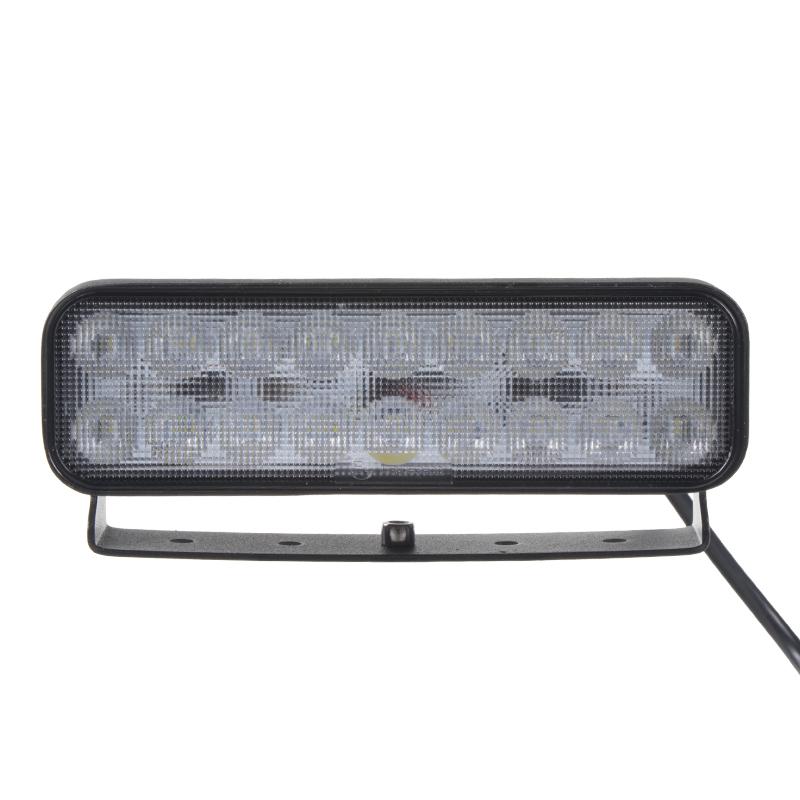LED světlo obdélníkové, 18x3W, 180mm