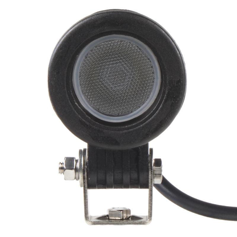 LED 1x10W světlo na mot./prac.světlo kulaté 10-30V