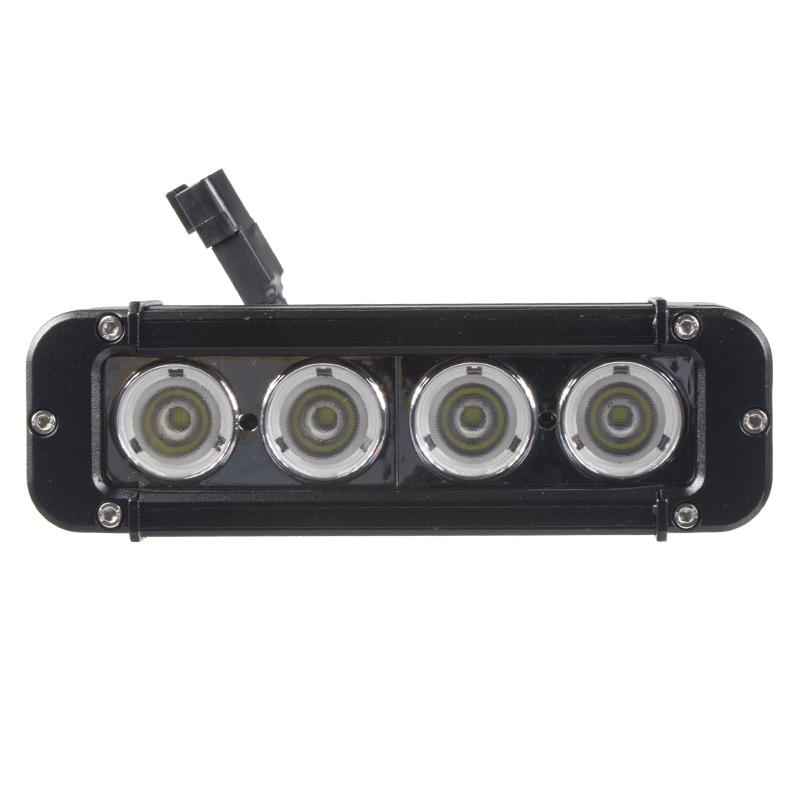 LED 4x10W prac.světlo-rampa, 10-70V, 203x64x92mm