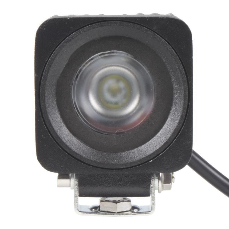 x LED 1x10W světlo na mot./prac.světlo hranaté 10-30V