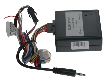UNI adaptér CAN-Bus/ovládání Alpine + rychl., 15, osv., zpát.