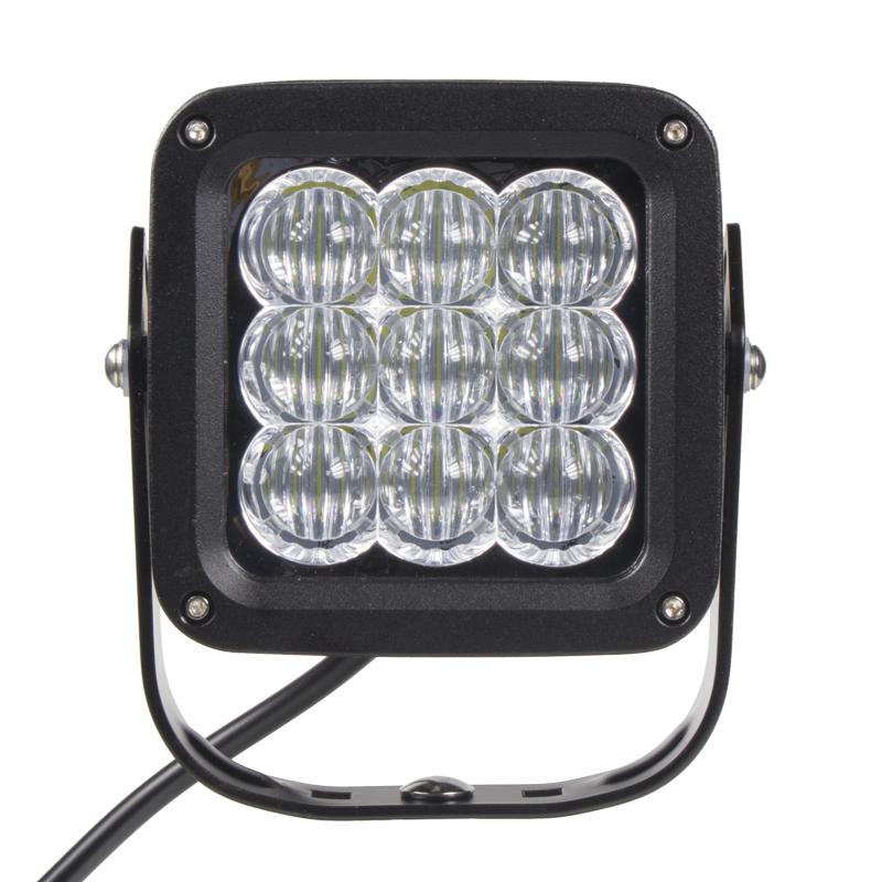 LED 9x3W prac.světlo, 9-32V, 127x127mm