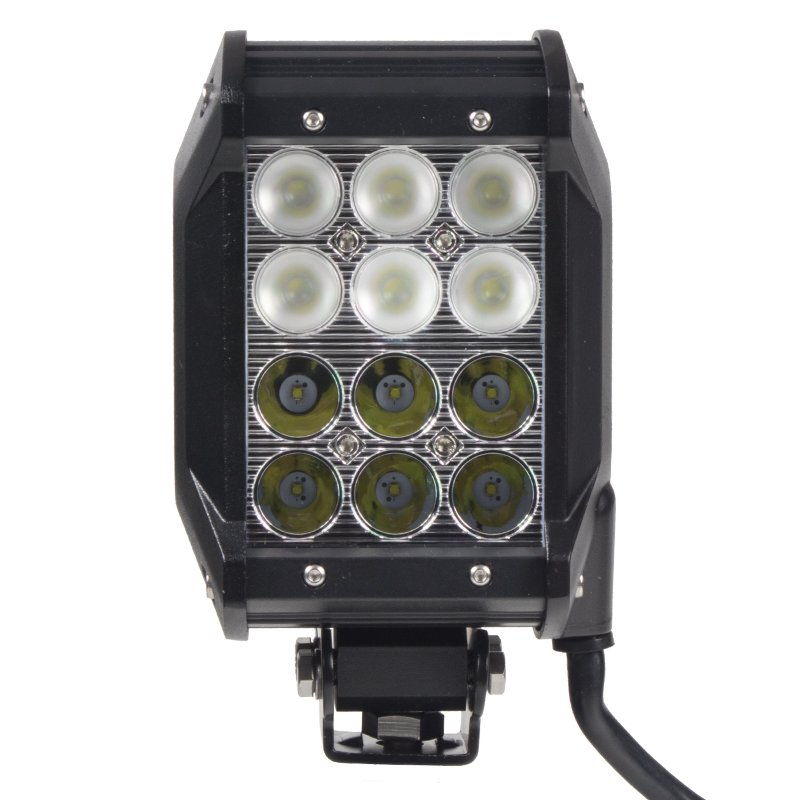 LED 12x3W prac.světlo,dva úhly vyzařování 8/60°, 9-32V, 99x93x167mm
