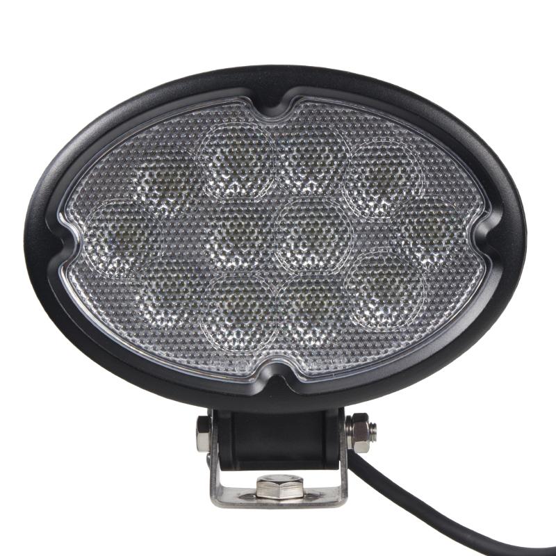 LED 12x3W prac.světlo, 9-32V, 175x157x77mm