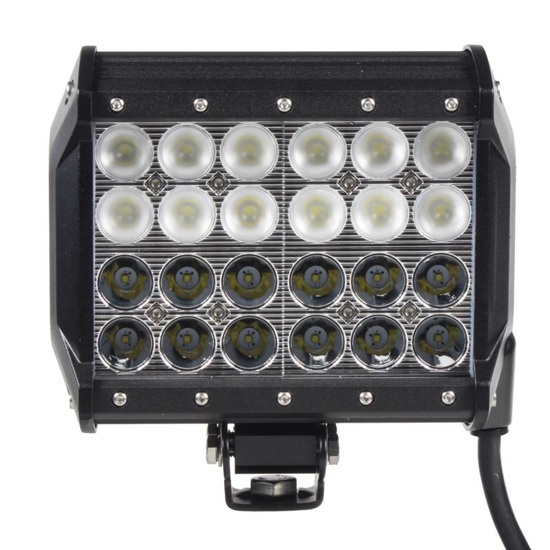 LED 24x3W prac.světlo,dva úhly vyzařování 8/60°, 9-32V, 167x93x167mm