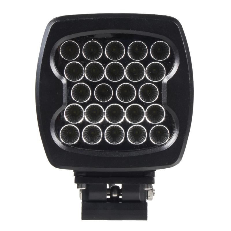 LED 24x3W prac.světlo, 10-30V, 140x140mm