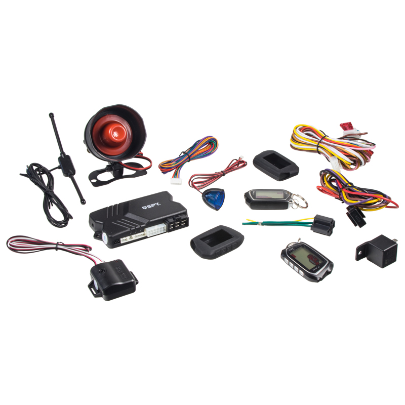SPY 2-WAY CAR autoalarm s dálkovým startem