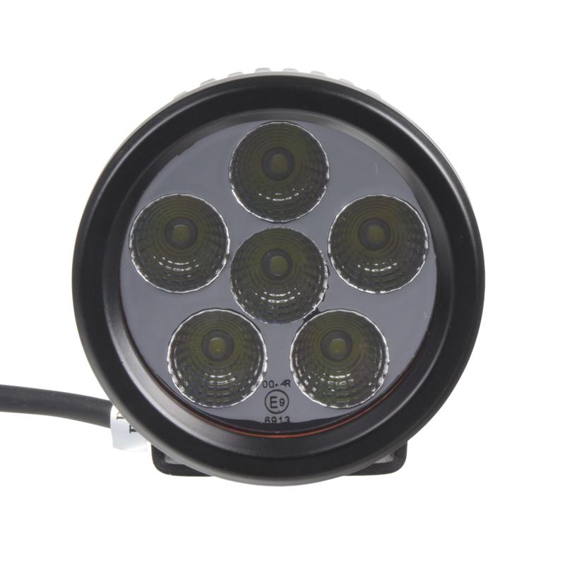 LED světlo na pracovní stroje kulaté 10-30V, ECE R23