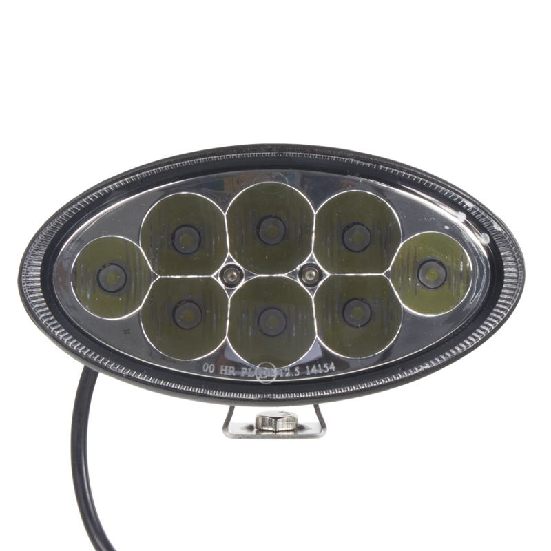 LED světlo přídavné/pracovní, elipsa 10-30V, ECE R112