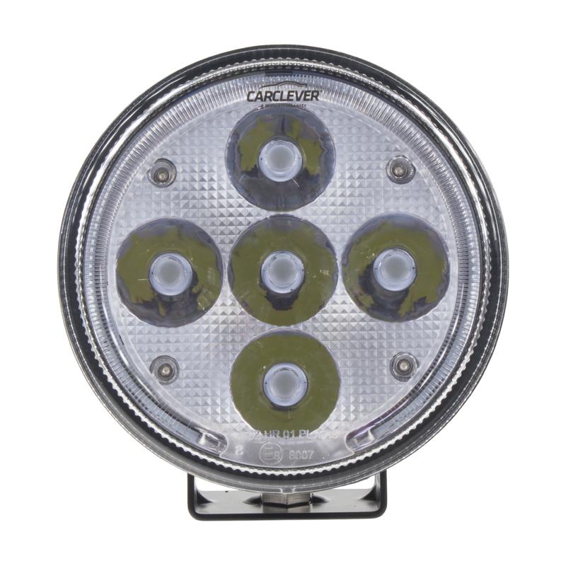 LED 5x10W přídavné/pracovní světlo, 10-30V, 150 mm, ECE R112