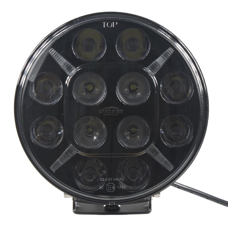 LED 12x5W přídavné/pracovní světlo, 10-30V, 180 mm, ECE R112