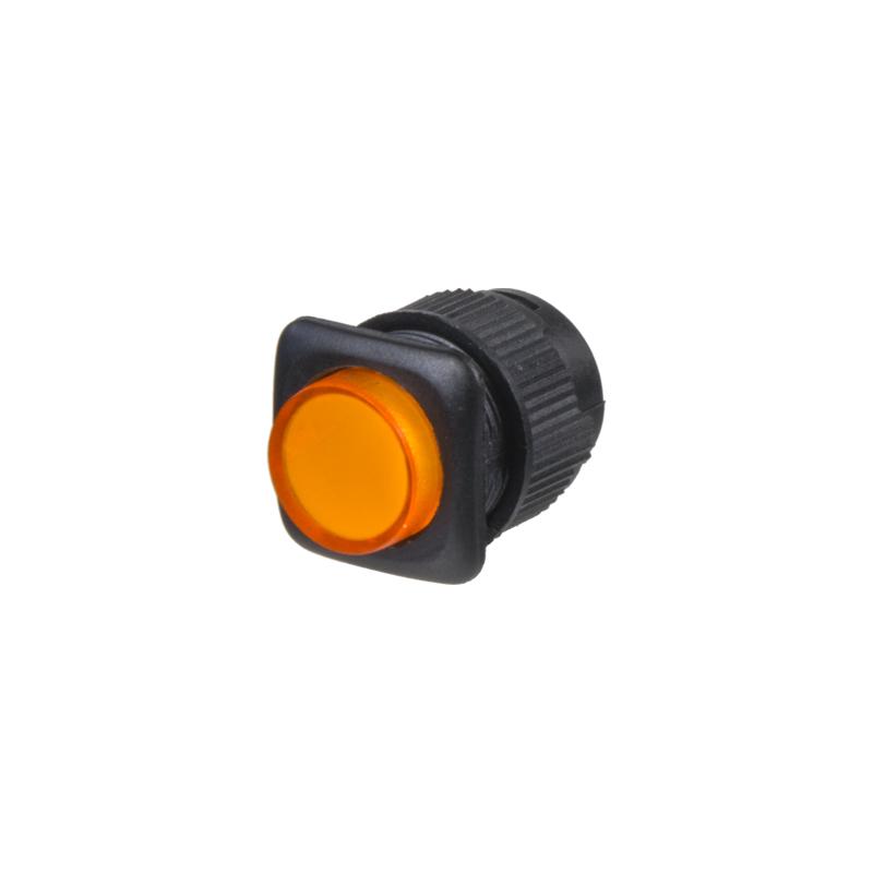 Tlačítko mini oranžové