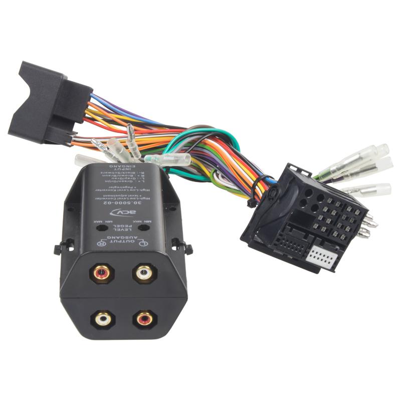 4 kanálová redukce repro/CINCH - MOST konektor
