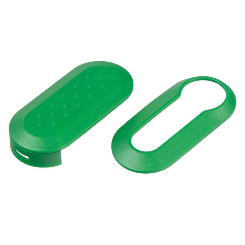 Náhr. obal klíče pro Fiat, 3-tlačítkový zelený