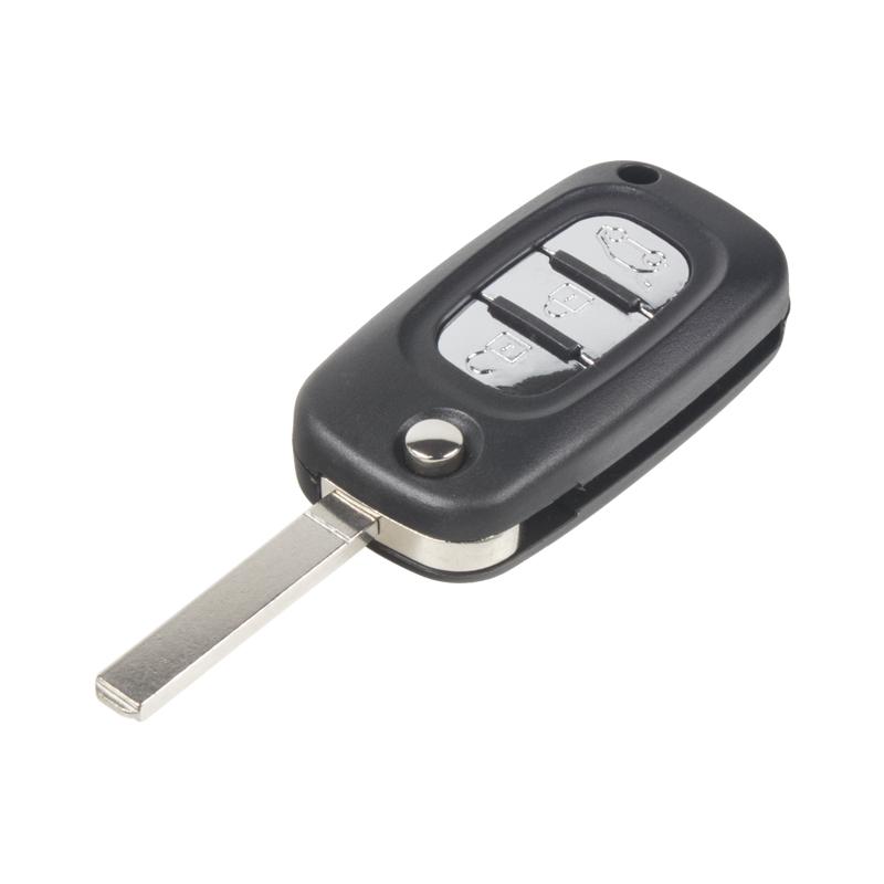 Náhr. obal klíče pro Renault, 3-tlačítkový