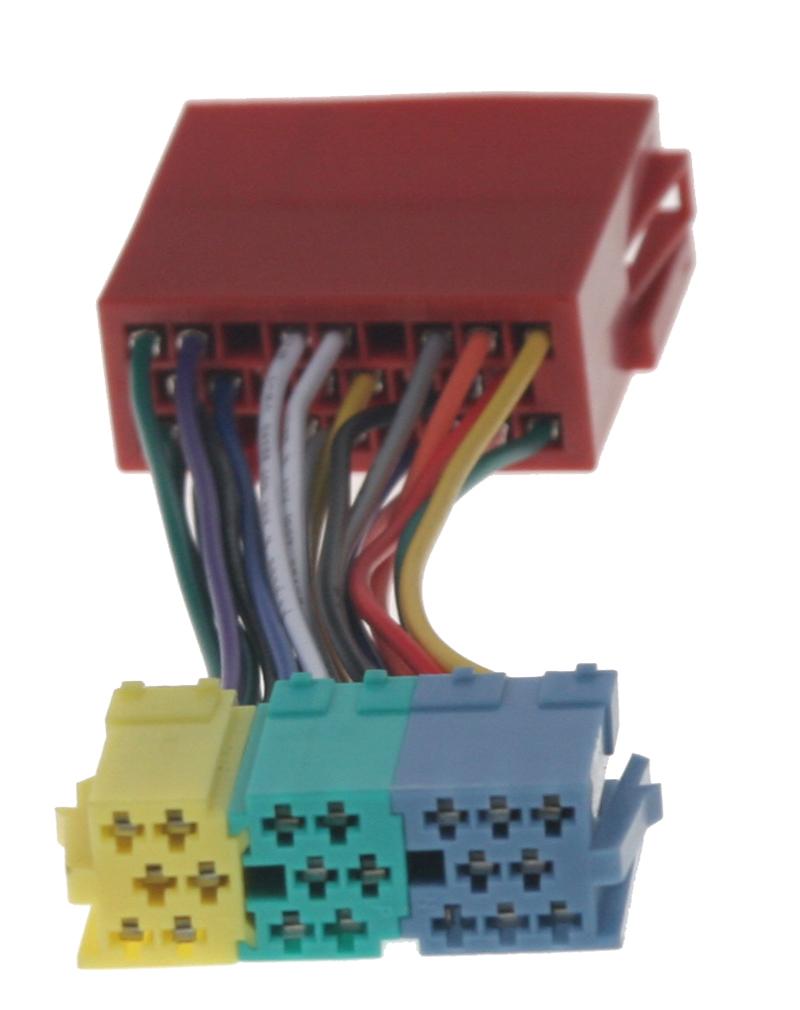 Kabeláž pro připojení 555VW003 do vozů Audi