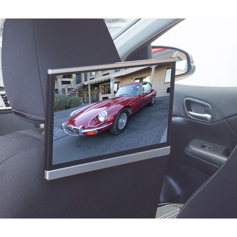 "LCD monitor 12,5"" OS Android/USB/SD/HDMI s držákem na opěrku"