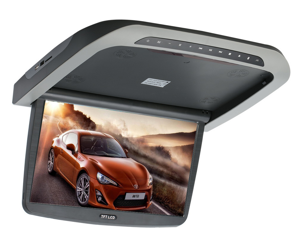 """Stropní monitor 15,6"""" s DVD/SD/USB/IR/FM/HDMI"""
