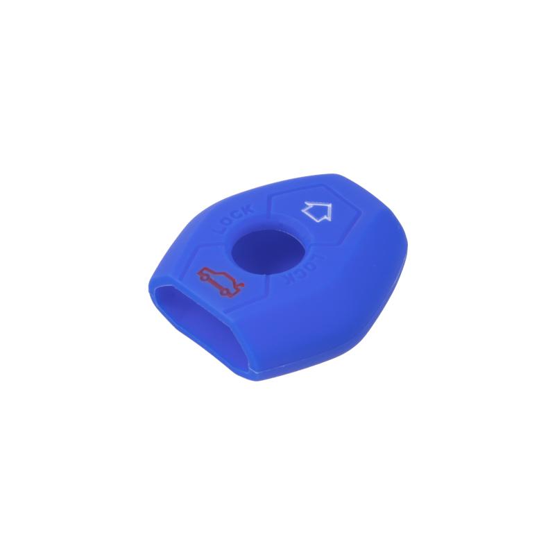 Silikonový obal pro klíč BMW 3-tlačítkový, modrý