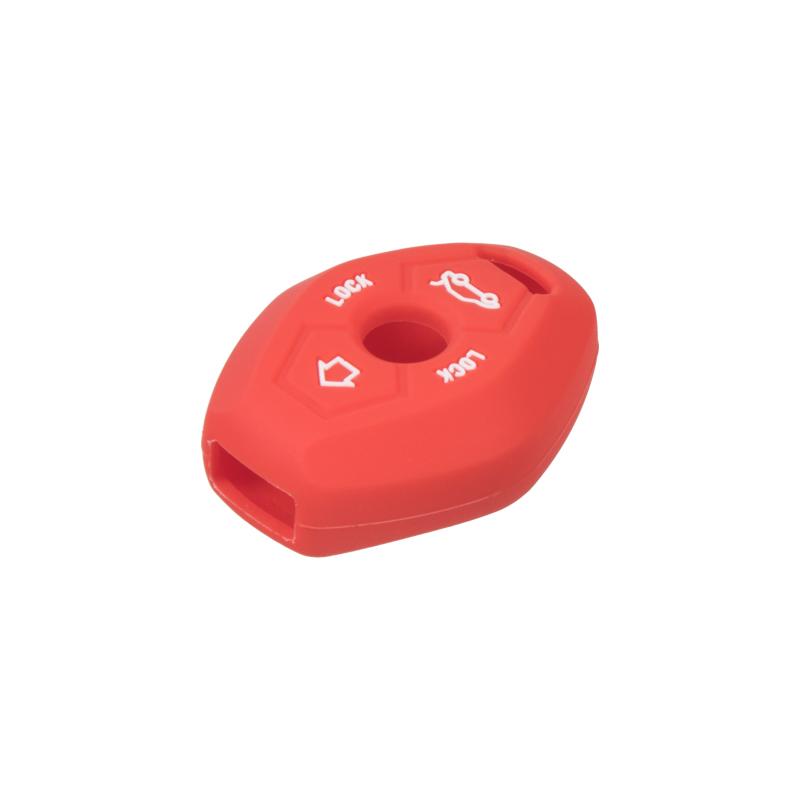 Silikonový obal pro klíč BMW 3-tlačítkový, červený