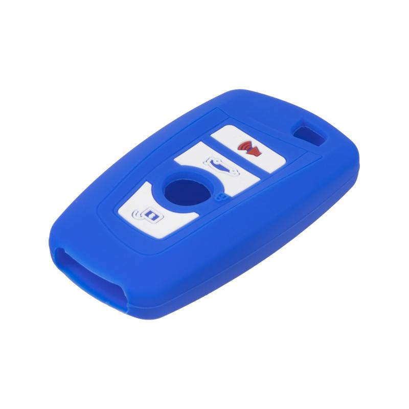 Silikonový obal pro klíč BMW New 7/5/X3 modrý