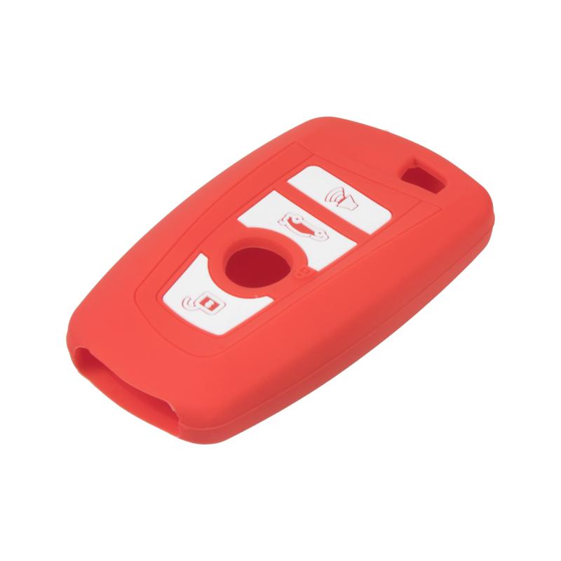 Silikonový obal pro klíč BMW New 7/5/X3 červený