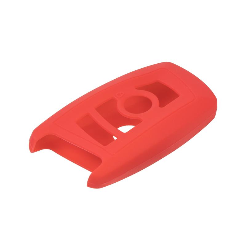 Silikonový obal pro klíč BMW 5, 7 3-tlačítkový, světle červený