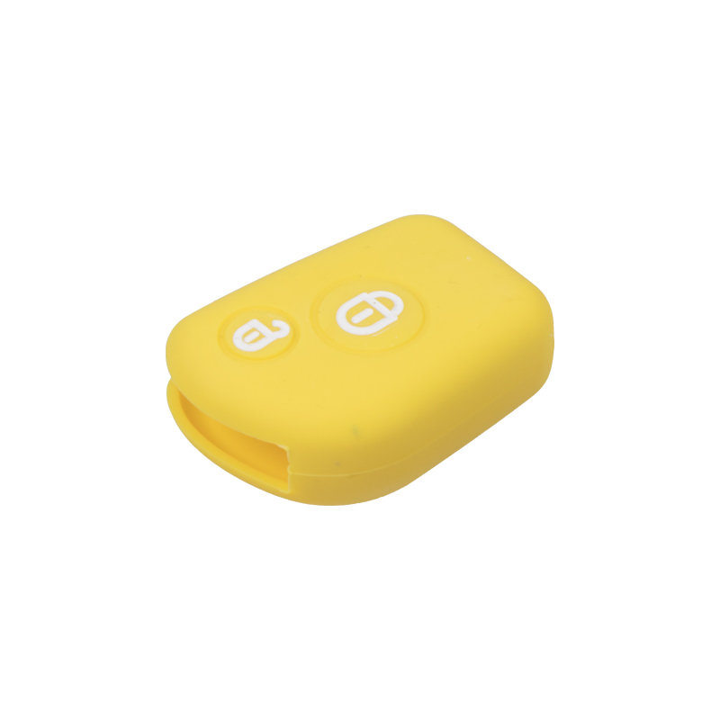Silikonový obal pro klíč Citroën 2-tlačítkový, žlutý