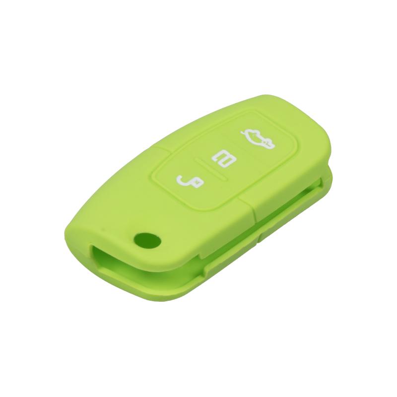 Silikonový obal pro klíč Ford 3-tlačítkový, zelený