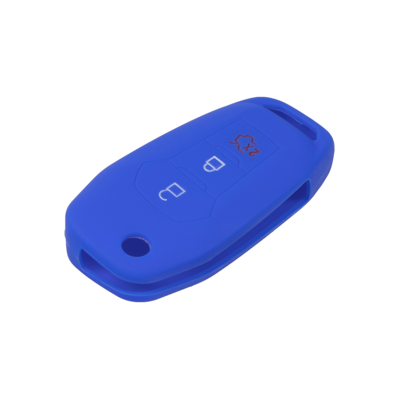 Silikonový obal pro klíč Ford Focus 2012-, Mondeo 2014- modrý