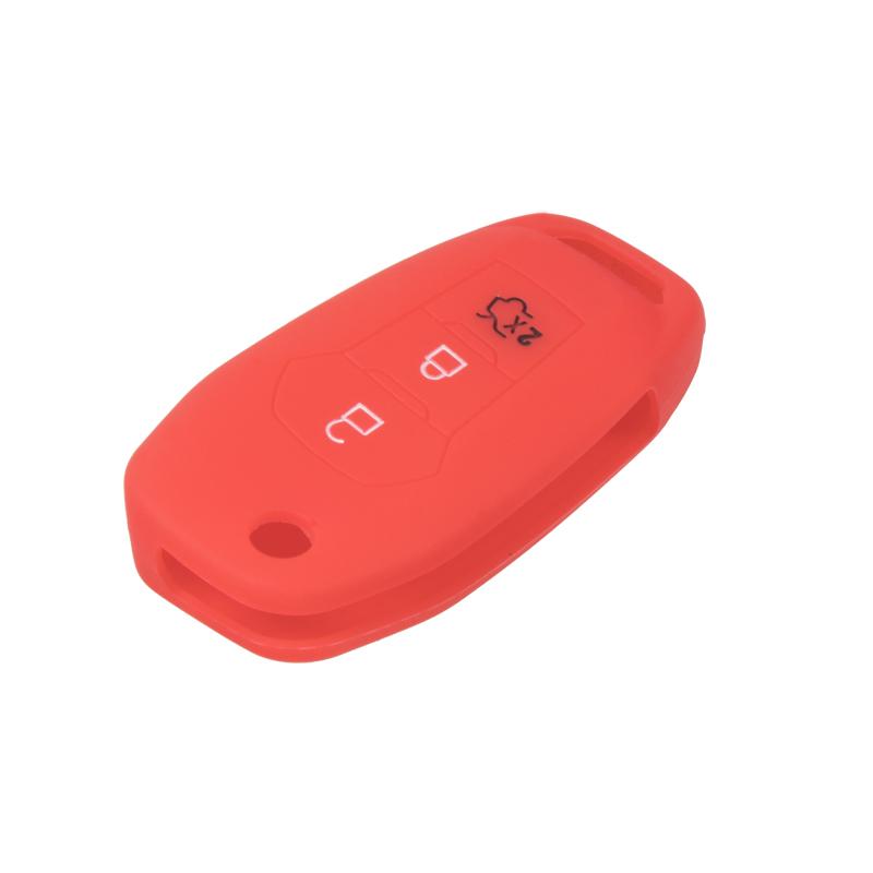 Silikonový obal pro klíč Ford Focus 2012-, Mondeo 2014- červený