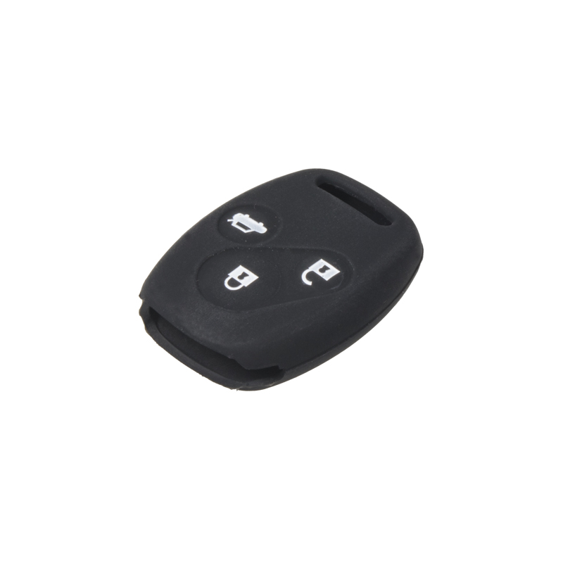 Silikonový obal pro klíč Honda Civic, CR-V 3-tlačítkový, černý