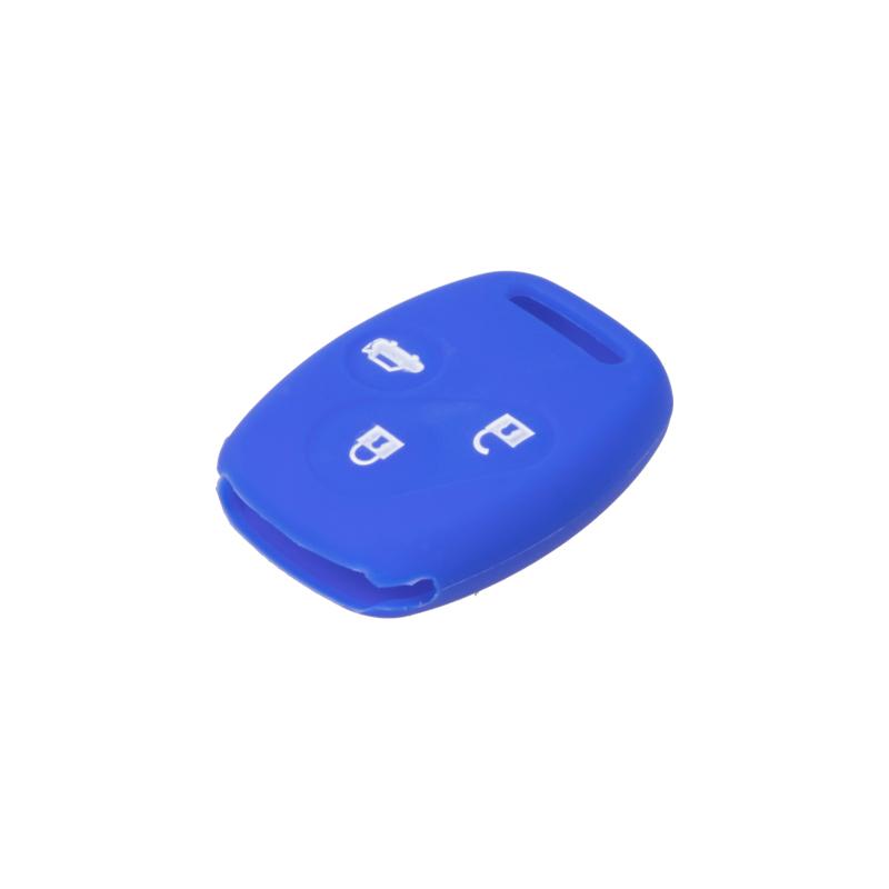 Silikonový obal pro klíč Honda Civic, CR-V 3-tlačítkový, modrý