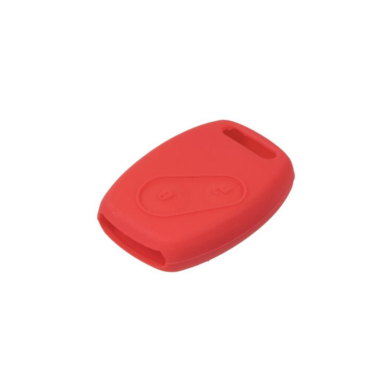Silikonový obal pro klíč Honda Civic, CR-V 2-tlačítkový, červený