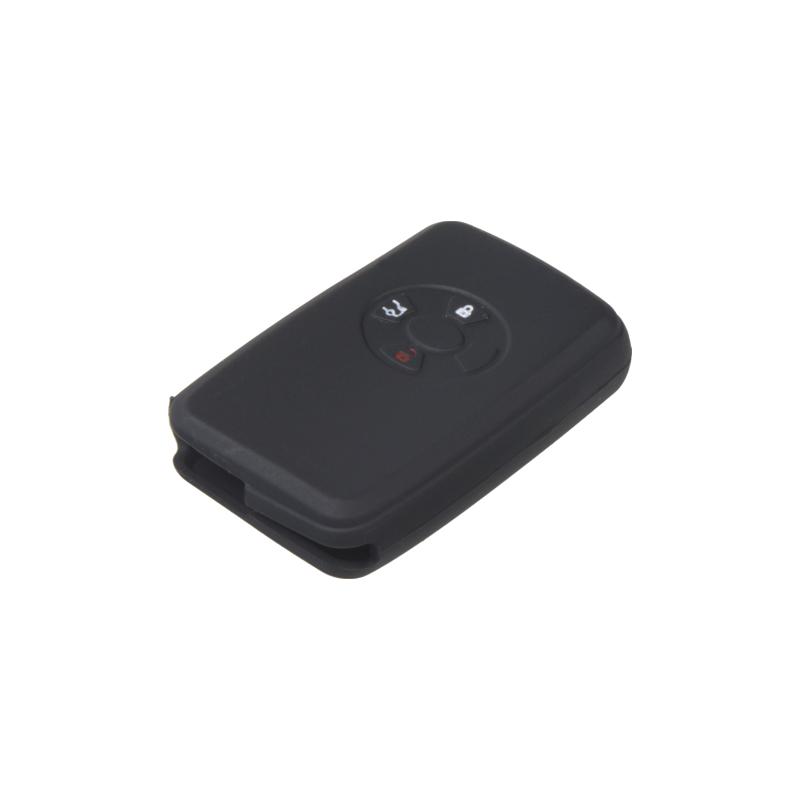 Silikonový obal pro klíč Toyota RAV 4, Corolla, Yaris 3-tlačítkový, černý
