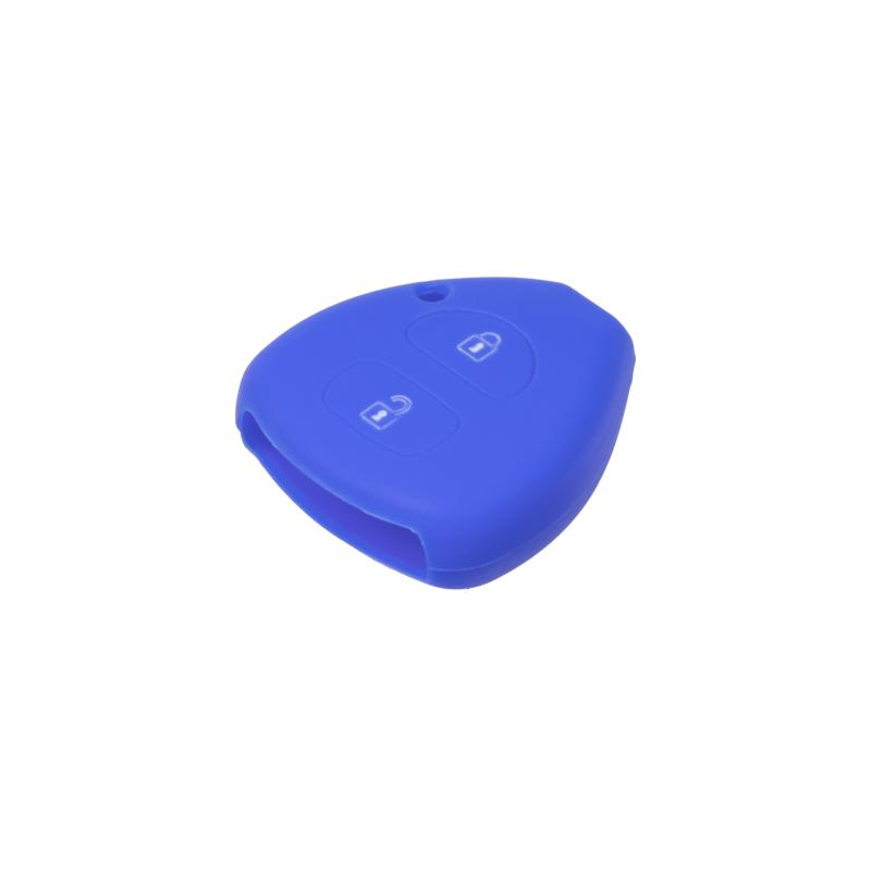 Silikonový obal pro klíč Toyota 2-tlačítkový, modrý