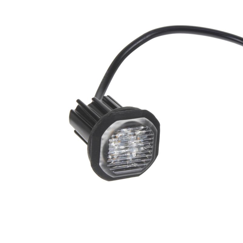 PROFI výstražné LED světlo vnější modré, 12-24V, ECE R65