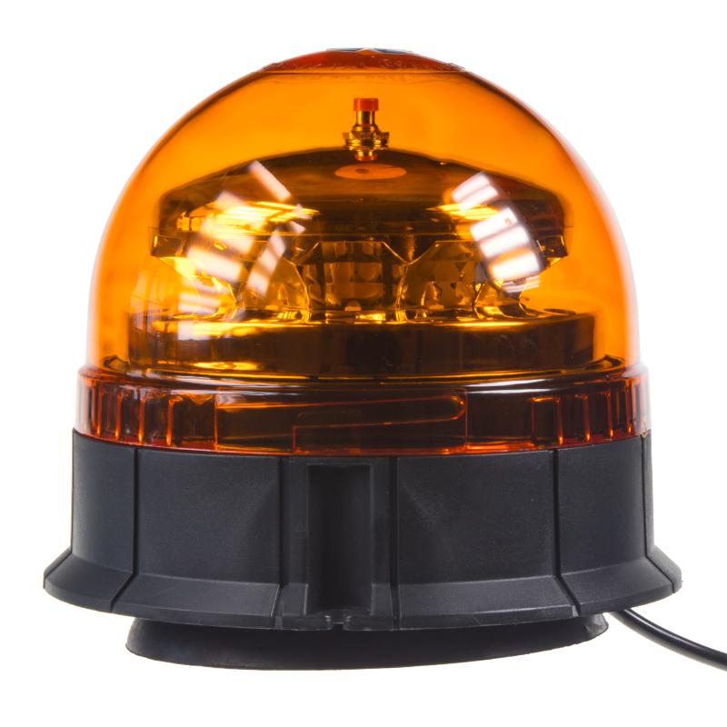 PROFI LED maják 12-24V 12x3W oranžový, magnet, ECE R65