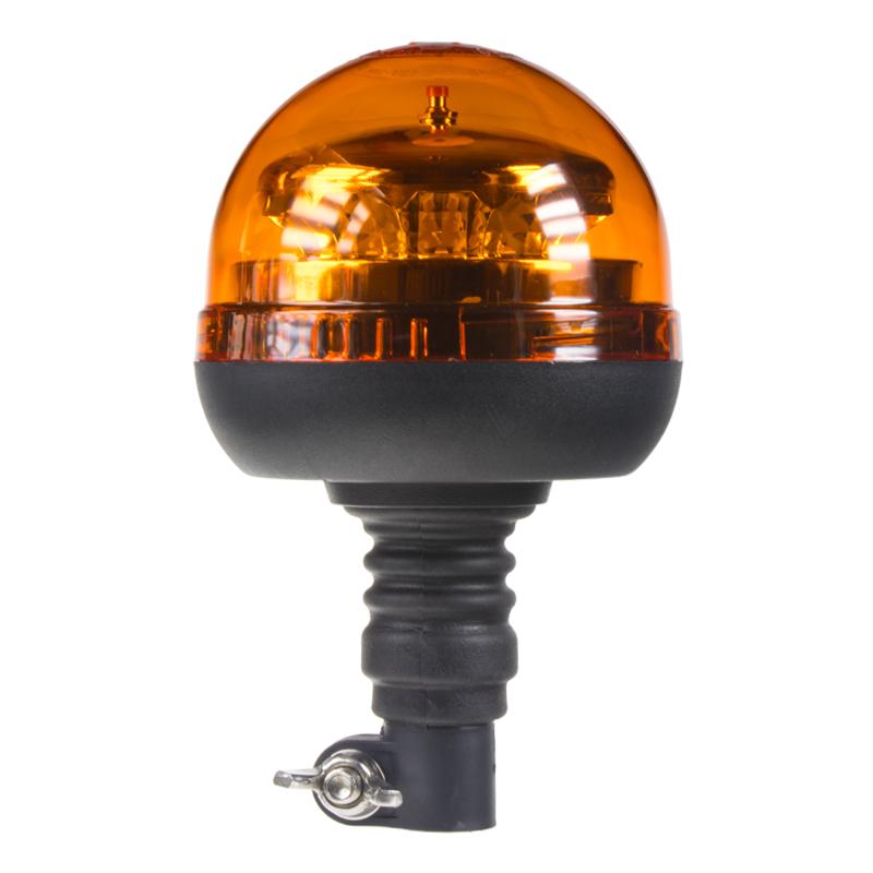PROFI LED maják 12-24V 12x3W oranžový na držák, ECE R65