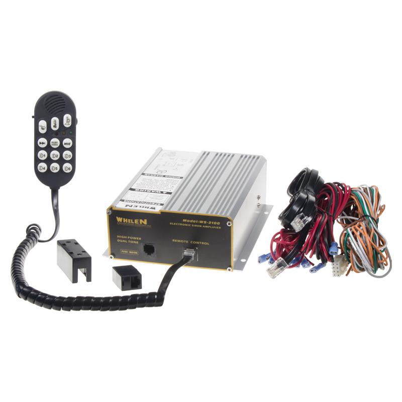 x Profesionální výstražný systém s mikrofonem 300W