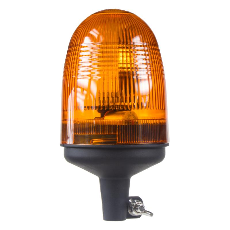 Halogen maják, 12-24V, oranžový na držák, ECE R10