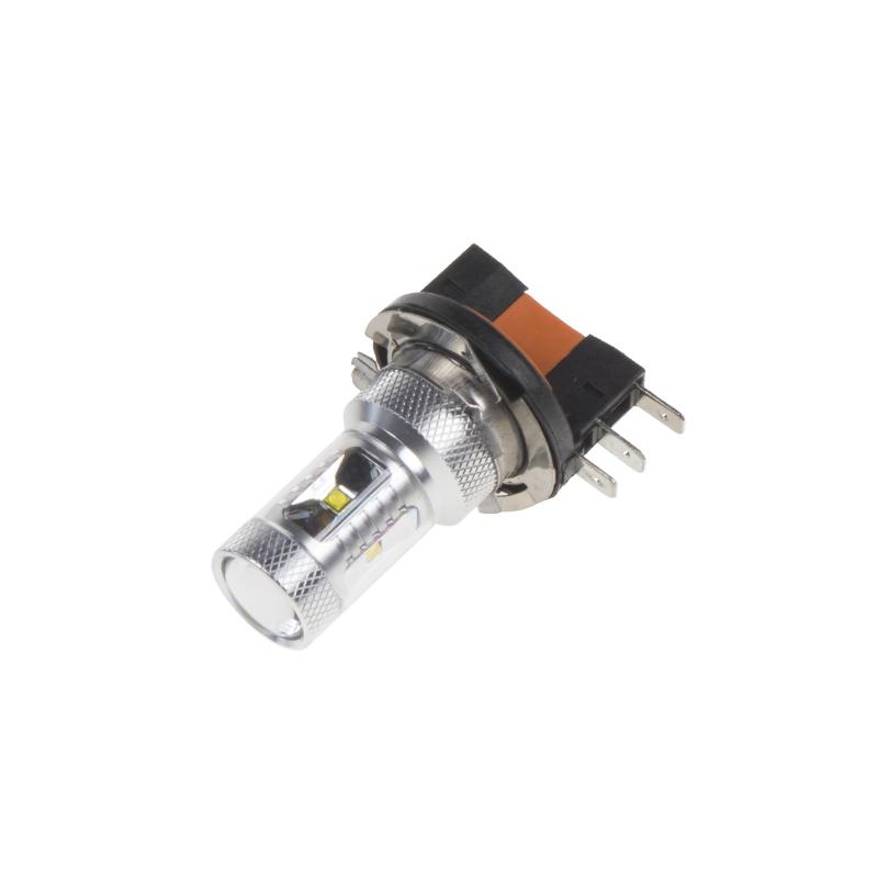 CREE LED H15 bílá, 12-24V, 30W (6x5W)